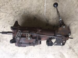 Gm Chevy Saginaw 3 Speed Manual Transmission With Shifter Linkage Hot Rod