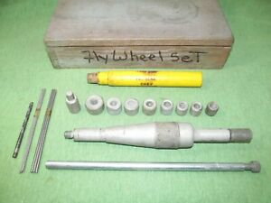 Vintage Clutch Alignment Set With Extra Stuff In Wood Box