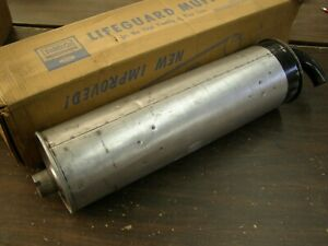 Nos Oem Ford 1962 1963 1964 Fairlane Muffler Exhaust 260ci V8 6 Cylinder