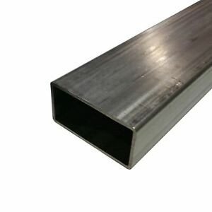 304 Stainless Steel Rectangle Tube 1 1 2 X 2 X 0 120 X 60 Long