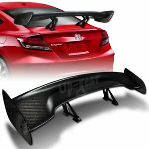 Universal 57 Type 3 Carbon Fiber Adjustable Rear Trunk Gt Spoiler Wing