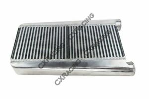 Cxracing 25 5x16x3 5 Bar Plate Intercooler 3 5 Thickness Core 3 Inlet Outlet