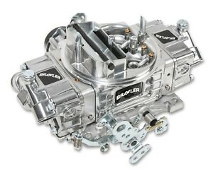 Holley Brawler 600 Cfm Brawler Diecast Carburetor Mechanical Secondary