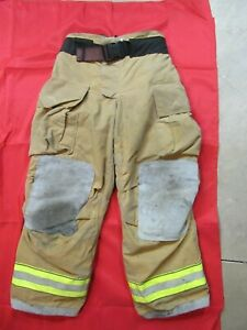 Mfg 2012 Globe Gxtreme 36 X 30 Firefighter Turnout Bunker Pants Fire Rescue