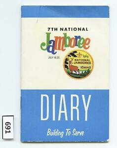 DEALER DAVE Boy Scout 1969 NATIONAL JAMBOREE COCA COLA 36 PAGE DIARY (691)