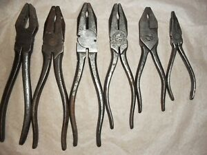 Wilkinson Tool Pliers British Made 6 X 6 X Vintage Tool Kit Pliers