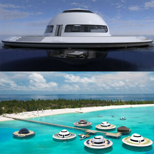 Ufo Floating House Modular Design On Water Home Meeting Office Resort Theme Room