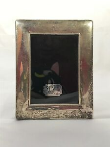 Vintage English Sterling Silver Rc Picture Frame 4 75 X 3 75
