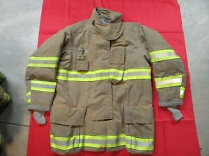 Mfg 2012 Globe Gxtreme 46 X 35 Firefighter Turnout Bunker Jacket Fire Rescue
