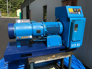 Compair Rotary Vane Compressor V15 Rs Air Drier Price Reduced 1000
