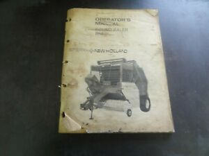 New Holland 852 Round Baler Operator s Manual 42085212