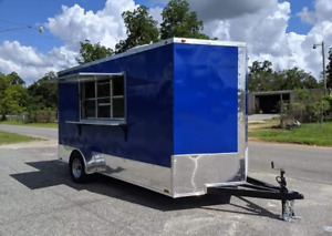 Turnkey 2020 7 X 14 Food Concession Trailer mobile Food Unit For Sale In Georg