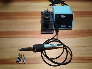 Weller Soldering Station Wtcpt Tc201t With Stand And 7 Solder Tips