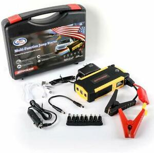 Portable Car Battery Jump Starter Up To 6 5l Gas 5 2l Diesel Engine