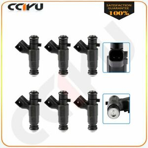 Fuel Injectors For 2005 2006 Cadillac Sts 2004 2006 Buick Rendezvous 3 6l