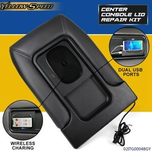 For 99 07 Silverado Gm Center Console Wireless Charger Usb Port Dual Charging