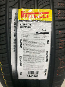 2 New 235 45 18 Pirelli P Zero All Season Tires