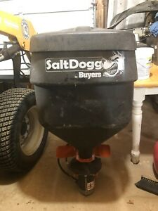 saltdogg Hitch Mount Salt Spreader New