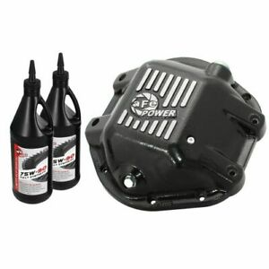 Afe Power 46 70162 Wl Differential Cover Machined Fins W Gear Oil Dana 44 New