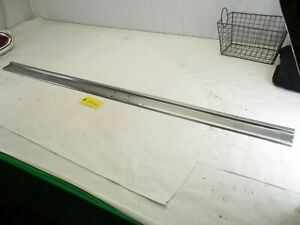 1959 1960 Chevy El Camino Bed Top Bedtop Stainless Trim Passenger Side Oem
