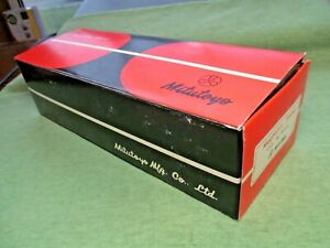 Mitutoyo 7010s Magnetic Stand Box Only See Pics Description