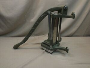 Halco French Fry Cutter Complete With Cutter And Block