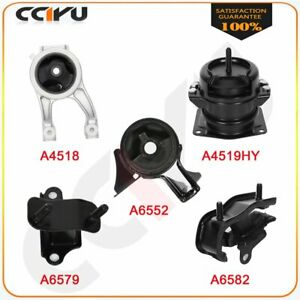 Engine Motor Transmission Mount Set 5 Piece Kit For Honda Odyssey 3 5l 1999 2001