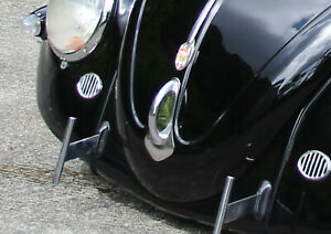 Vw Type 1 Bug Oval 1954 1967 Stainless Accessory Front Hood Handle Guard Empi