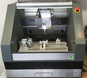 Roland Mdx 40a Cnc Mill Zcl 40a 4 axis And Zdx 40a Chip Collection Drawer