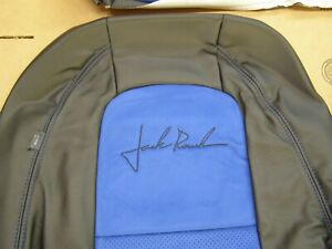 Nos Oem Roush Mustang 2011 Seat Covers Leather W Blue Suede Ford 2012 2013 2014