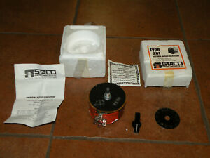 1 Staco Energy 201 Variable Transformer Input 120vac Output 0 132vac 2 0amps