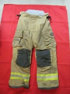 Mfg 2010 38 X 28 Fire Dex Firefighter Turnout Bunker Pants Gear Rescue Safety