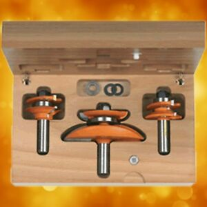 Cmt Ogee Raised Panel Router Bit Set 1 2 Shank 800 521 11