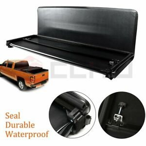 For 2015 2019 Ford F 150 5 5 Bed Tri fold Tonneau Cover Folding Truck