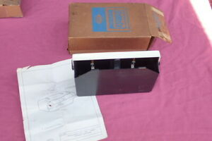 1966 68 Ford Accessory Stereo Tape Cartridge Holder Nos C6az 19a090 A Mustang