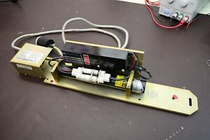 Uniphase Helium Neon Laser Hene With Laser Drive Power Supply