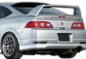 For Acura Rsx Dc5 Abs Black Type S Rear Roof Spoiler Window Visor Wing