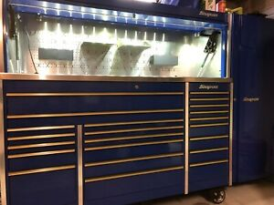 Snapon Krl 1023 With Hutch And Side Cabinet