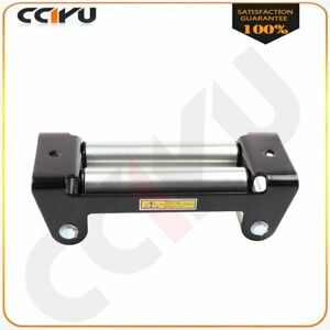 Fits Jeep Heavy Duty Winch Roller Fairlead Universal 4 way Roller Cable Guide