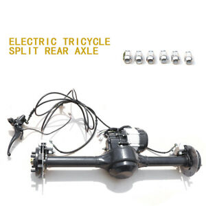 Rear Axle Kit F Electric Vehicle Tricycle Speed Disc Brake Integrated Rear Axle