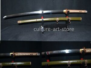 Top Quality Full Tang Japanese 98 Saber T10 Clay Tempered Sword Really Sharp