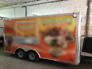 Used 2018 Freedom Trailers 8 5 X 16 Food Concession Trailer For Sale In Florid