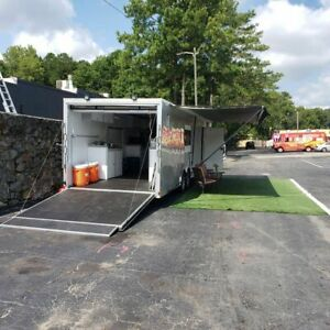 2018 8 5 X 28 Catering Food Concession Trailer W Pro Fire Suppression For Sal