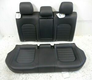 12 Volkswagen Passat Rear Lower Bottom Upper Back Seat Cushion Set Oem Black