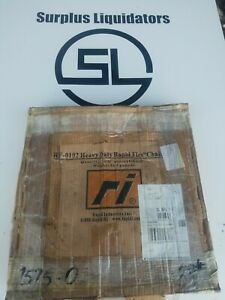 New 10ft Rf 0102 Rapid Industries Q flex Enclosed Track Overhead Conveyor Chain