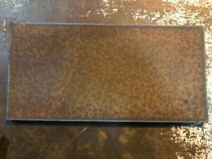 2 Pieces Set 5 16 Steel Sheet Plate 12 X 24 Rusted Plates
