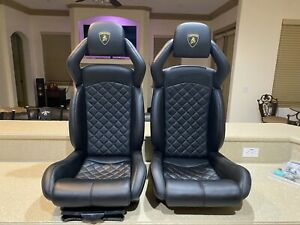 Lamborghini Murcielago Seats Black Never Used New Leather