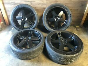 Range Rover Hse Momo L322 Front Rear Set Wheel Rim And Tire 22 Inch 22 03 05