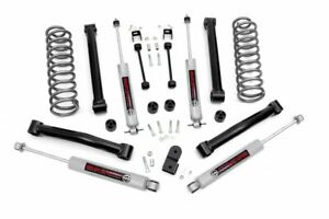Rough Country 3 5 Lift Kit Fits 93 98 Jeep Grand Cherokee Zj V8 N3 Shocks