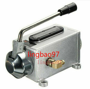 Manual Hand Pump Oiler one Oil Outle Y 8 Fit Bridgeport Mill Machine Bore 6mm